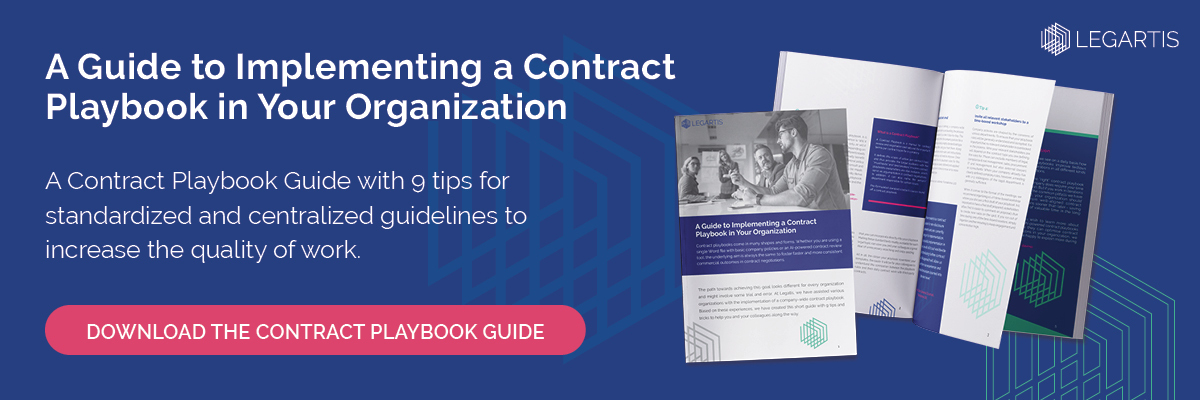 contract playbook download